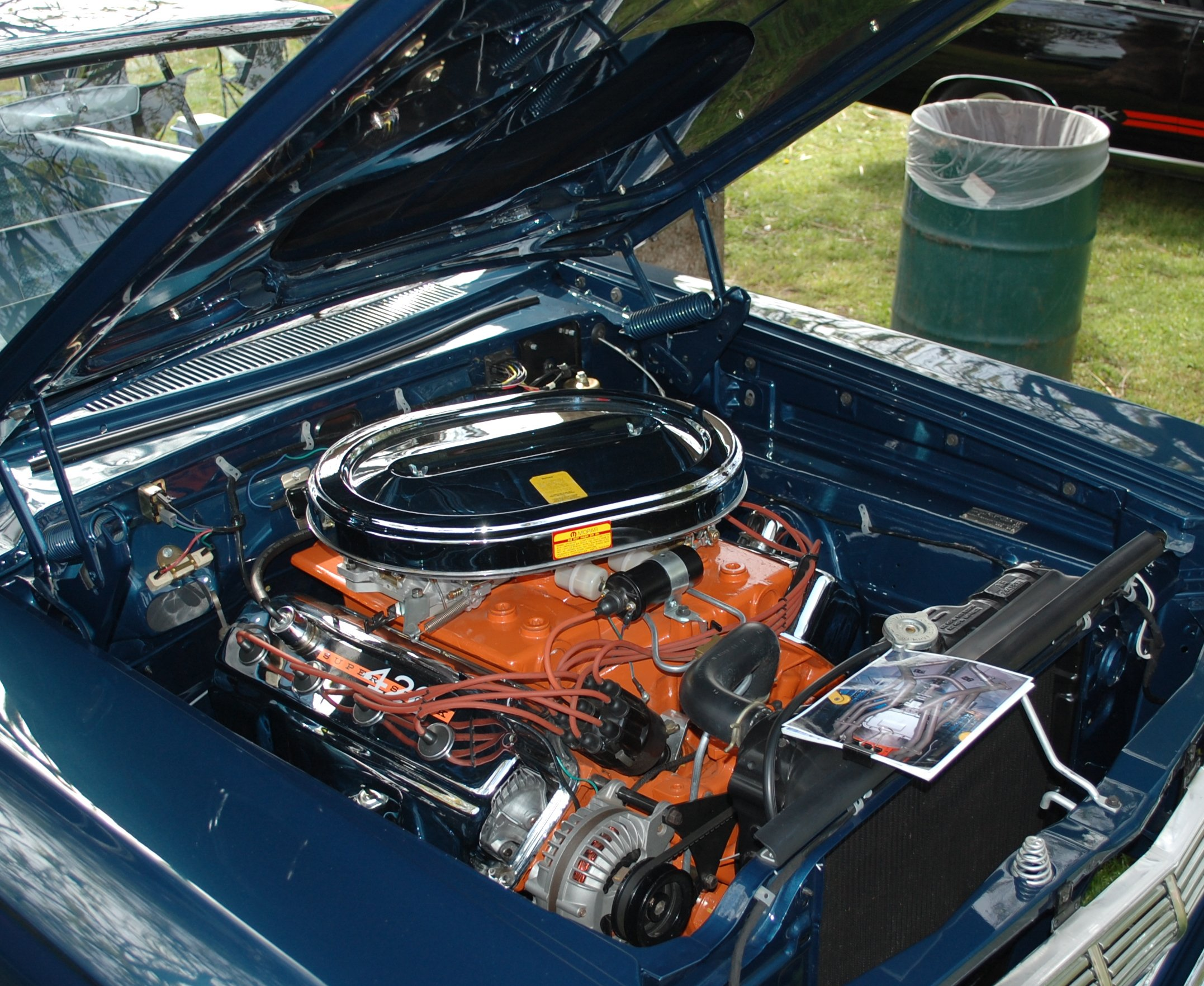 Hemi Air Cleaner : Max wedge race hemi air cleaners share the knownledge