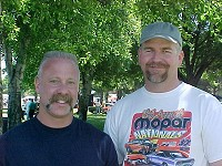 David and me at car show - October 2001