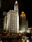 Wrigley Building and the Chicago Tribune