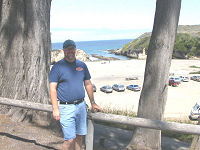 At Montana de Oro State Park - 2002